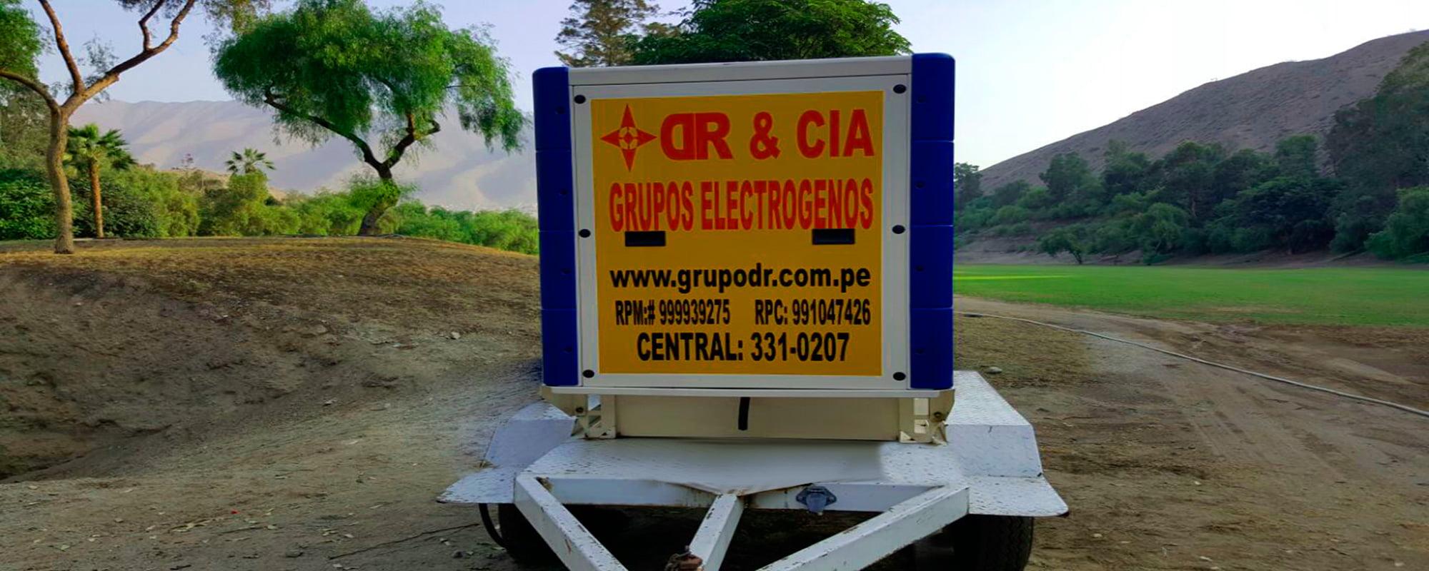 Atención de Personal Calificado con Grupos Electrógenos