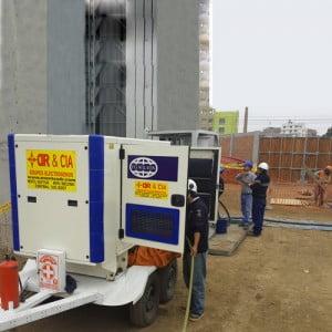 Alquiler de Grupos Electrógenos para construcción
