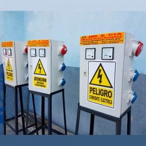 Alquiler de Tableros Eléctricos para Grupos Electrógenos