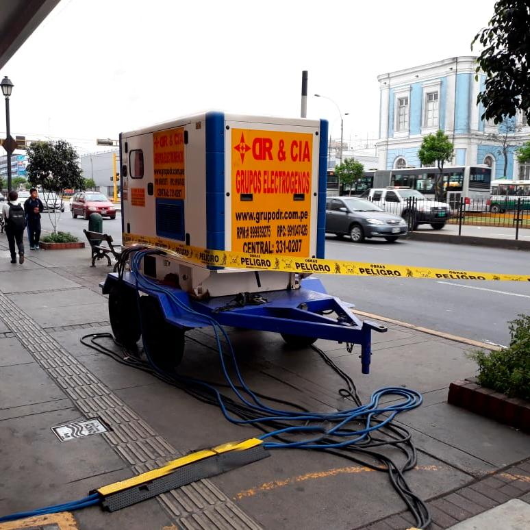 Alquiler de Generador Eléctrico en Lima