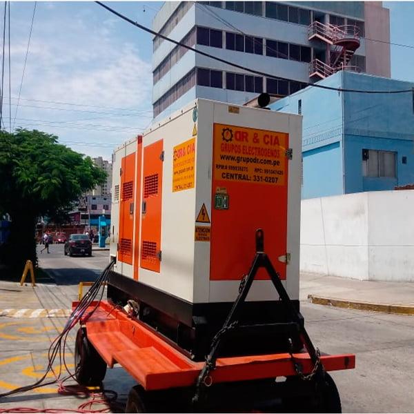 Alquiler de Grupos Electrógenos en Trujillo
