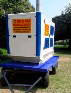 Alquiler de Generador Electrico en Cañete